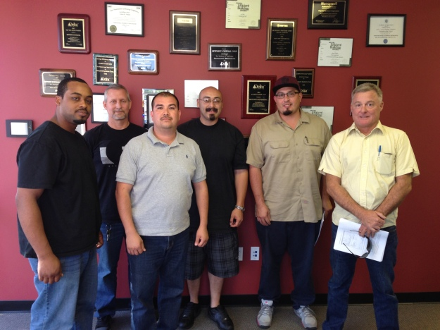 Thank you for attending our September 2013 Delta I training class in California!